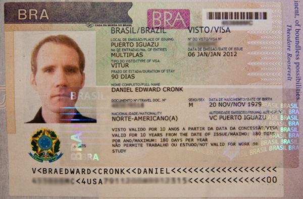 Brazil Visa Documents Required Embassy N Visa