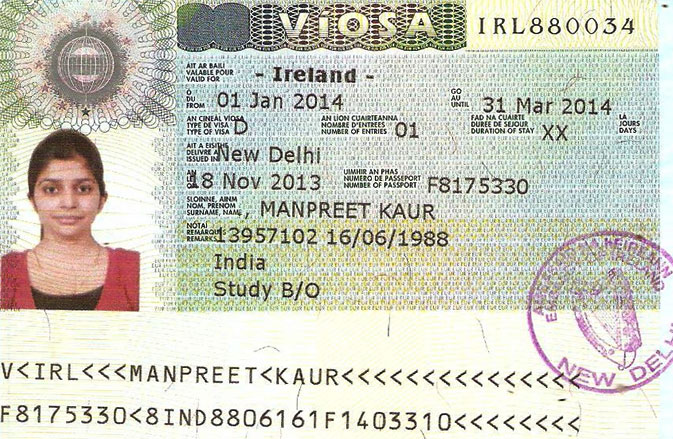 Ireland Visa Documents Required Embassy N Visa