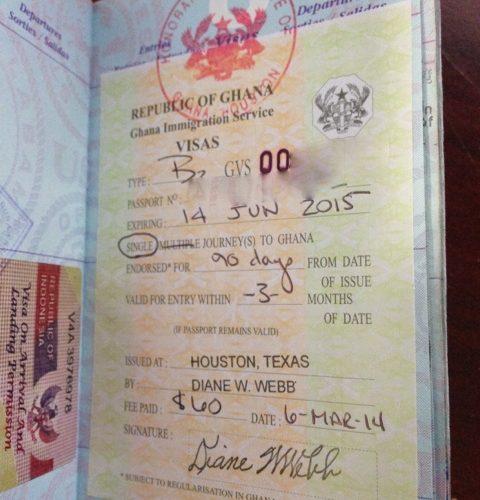 Ghana Visa Documents Required Embassy N Visa