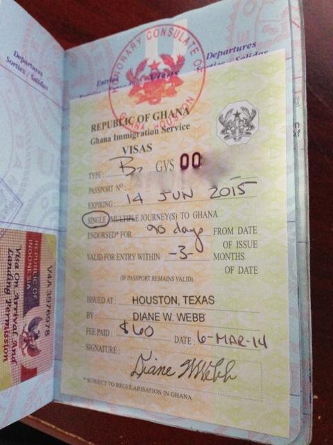 Ghana Visa | Documents required - Embassy n Visa